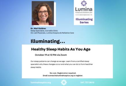 Illuminating: Healthy Sleep Habits As You Age